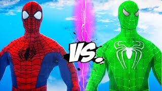 ULTIMATE SPIDERMAN VS GREEN SPIDER-MAN