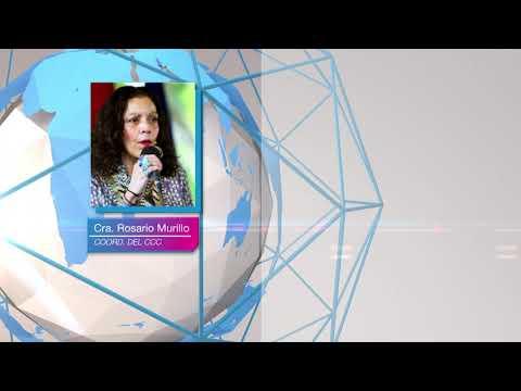 Compañera Rosario Murillo: Nicaragua crece afirmando la reconciliación y la paz todos los días