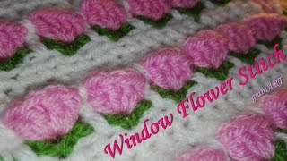 How To Crochet Flower Pattern Stitch