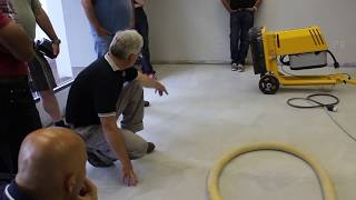 How to Polish ARDEX PC-T™ Concrete Topping