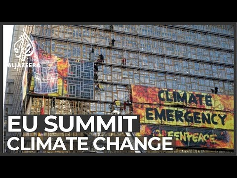 Climate change tops EU summit agenda