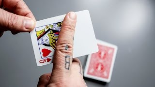 TRANSFORM any Card in to a BLANK CARD!!