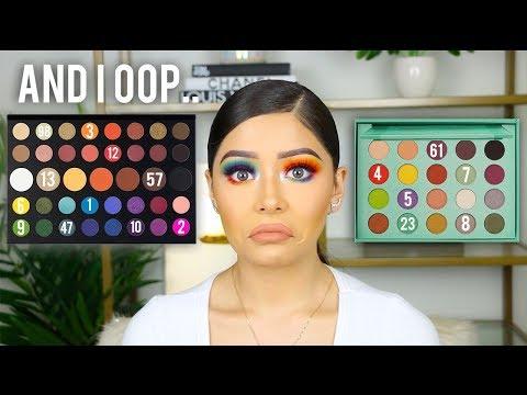 Random Numbers Chose My Eyeshadow Challenge!!
