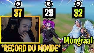 TEEQZY EXPLOSE LE RECORD DE KILLS DE MONGRAAL !! - Fortnite Meilleurs Moments Ep.108