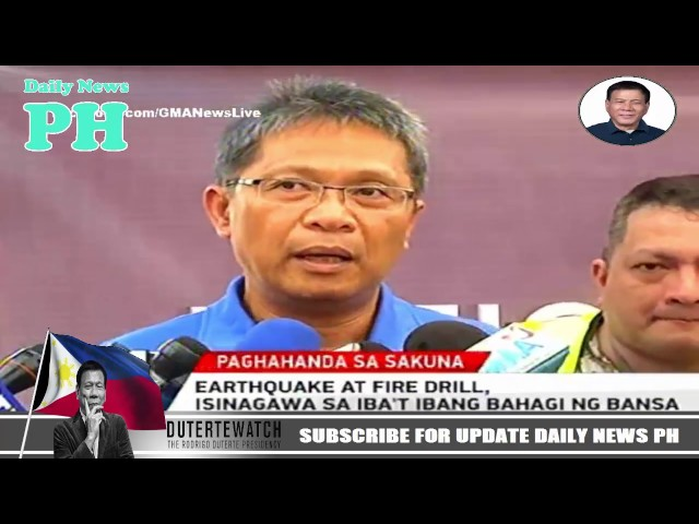 Duterte Breaking News Philippines April 1 2017