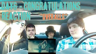 """Day6   Congratulations MV Reaction (Non Kpop Fan) """"Overalls"""""""