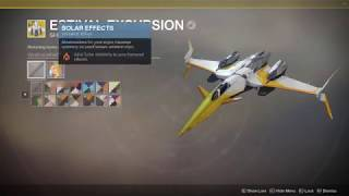 Destiny 2 | Solstice of Heros - Upgrading Final Armour set and new Estival Excrusive Ship