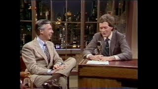 Fred Rogers on Letterman, February 17, 1982
