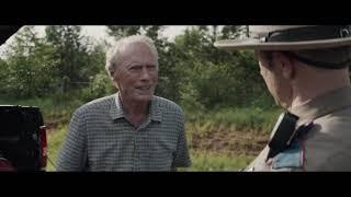 The Mule 2018 cop scene