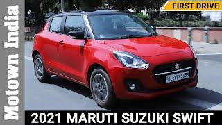 2021 Maruti Suzuki Swift | Facelift | First Drive | Motown India