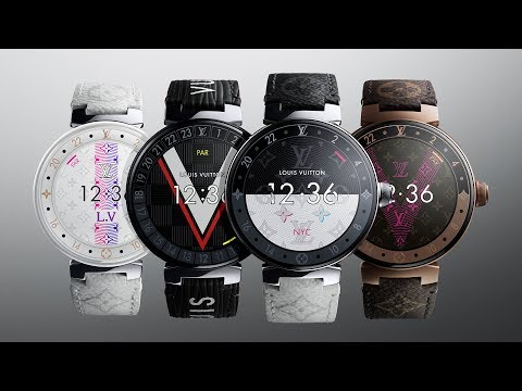 The new Louis Vuitton Tambour Horizon Connected Watch
