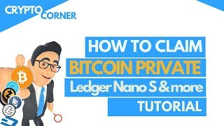 Claiming your Bitcoin Private from Ledger and other BTC wallets