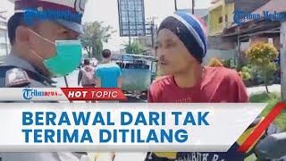 Kronologi Oknum Polantas Aniaya Pria di Deli Serdang, Korban Tak Terima Ditilang & Teriaki Petugas