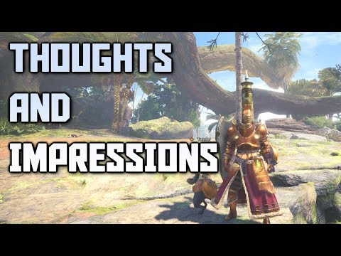Monster Hunter World Beta Thoughts And Impressions