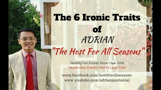 Wedding Emcee: The 6 Ironic Traits of The Host For All Seasons