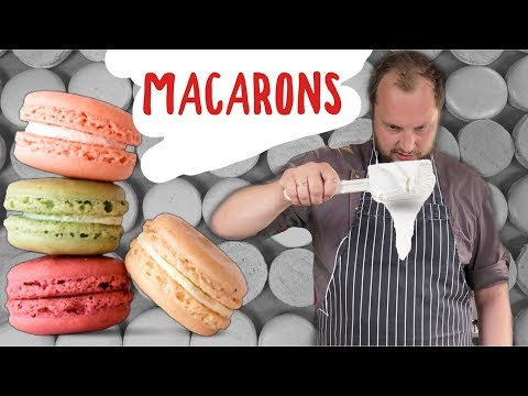 Как сделать французские пирожные макаронc  (макарони) - все проще чем кажется