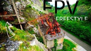 FPV FREESTYLE / Cantera abandonada ATXARTE 4K (CRASH)