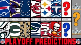 NFL Playoff Predictions 2020 | Super Bowl 55 Winner?