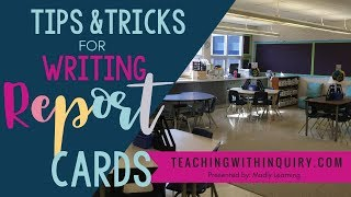 EP 53: Teacher's Tips For Writing Report Card Comments