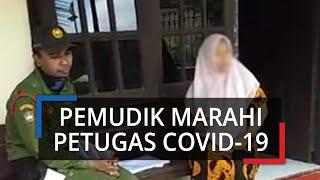 Kronologi Video Viral Pemudik Perempuan dari Jakarta Marahi Petugas Pendataan Covid-19 di Kota Solo