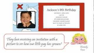 Classic Airplane And Boat Birthday Party Invitations That Youll Surely Adore!