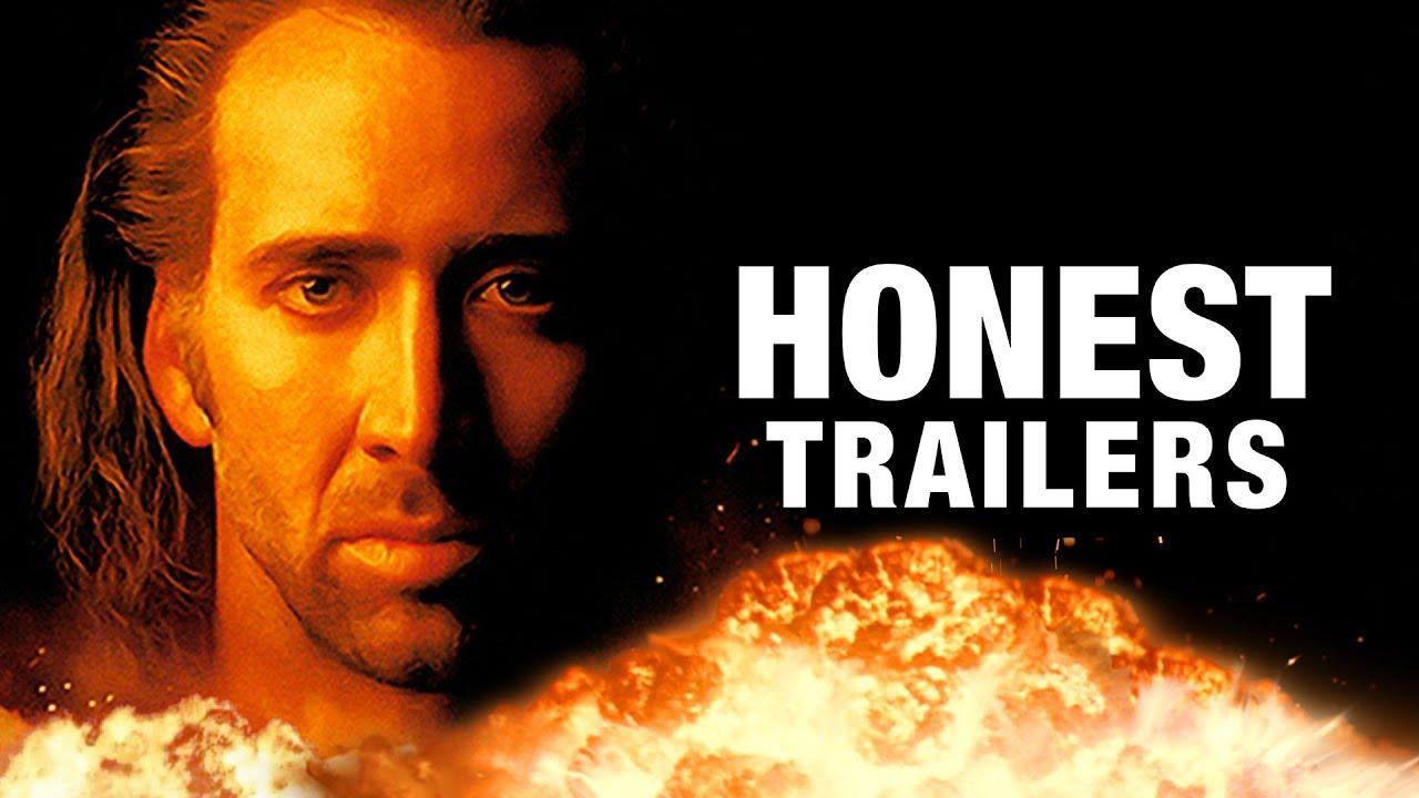 Today Honest Trailer: Con Air, 1997 -  Nicolas Cage