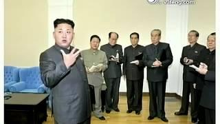 朝鲜电视台播出张成泽开会被抓画面 Jang Sung-taek, Kim Jong-Un's Uncle, seized and arrested