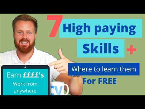 , title : '7 high paying skills & where to learn them for free | Increase your income & work remotely
