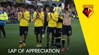 Thanks for your support this season watfordfc fans