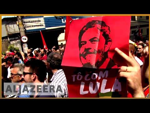 🇧🇷 Brazil's Lula turns himself in to police after tense showdown | Al Jazeera English