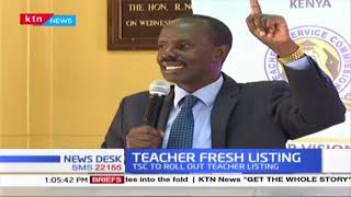 TSC set to roll out countrywide biometric registration of all teachers under its employment