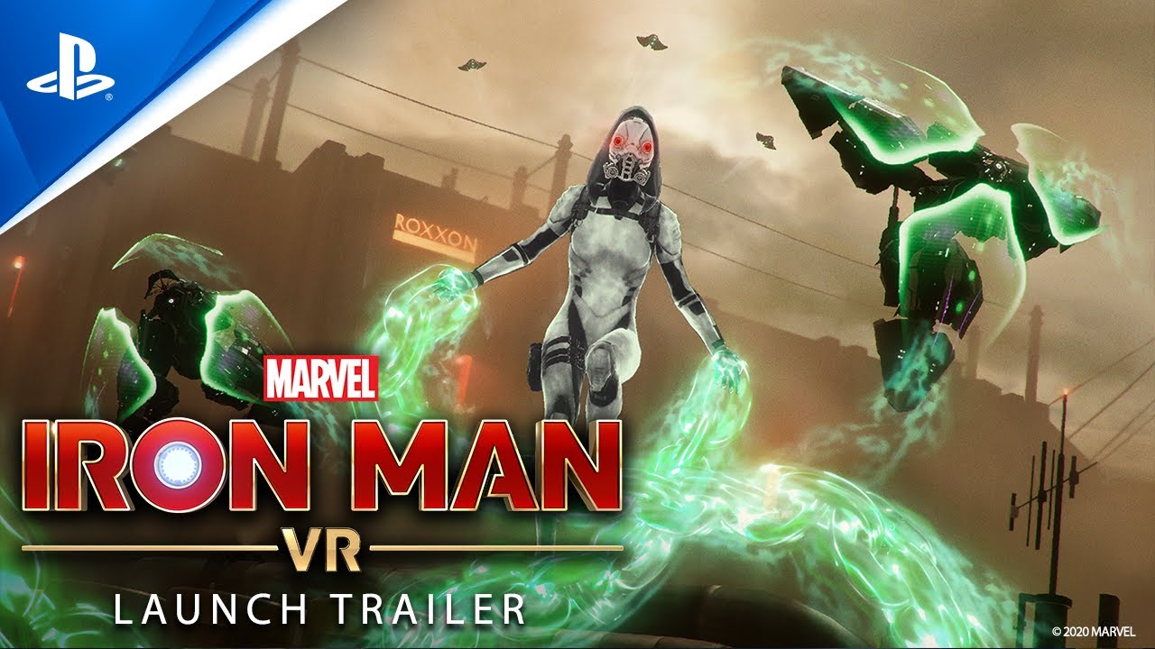 Marvel's Iron Man VR is out Friday