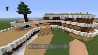 Partie 2  présentation de la ville d un abonné [minecraft ]