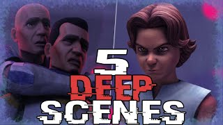 5 DEEP Scenes that revealed the Genius of the Writers in the Clone Wars