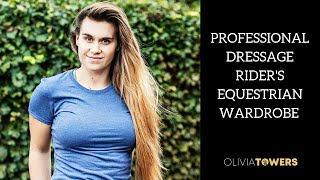 PROFESSIONAL DRESSAGE RIDERS EQUESTRIAN WARDROBE