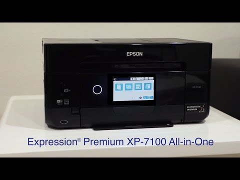 Expression Premium XP-7100 Small-in-One Printer | Inkjet