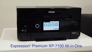 Expression Premium XP-7100 Small-in-One Printer | Product Tour