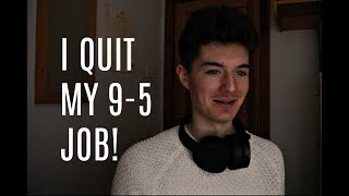 The Day i Quit my 9-5 Job | Part Time Work to focus on Trading