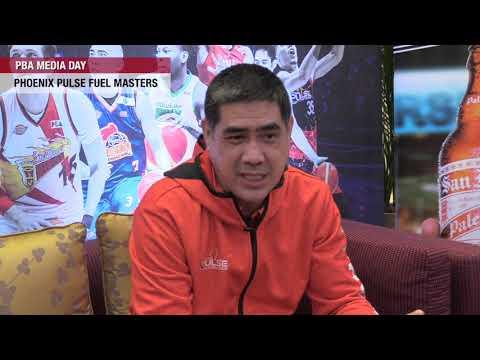 [Inquirer]  PBA Media Day: Phoenix coach Louie Alas