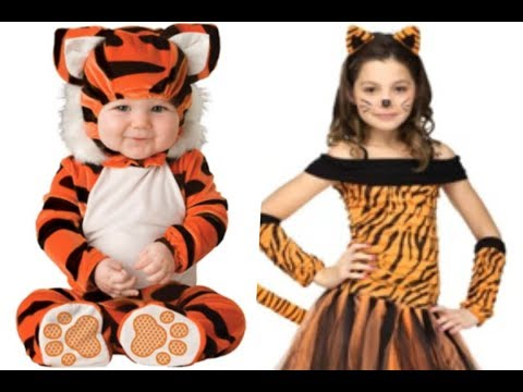 Disfraces de tigre más lindos para niños.
