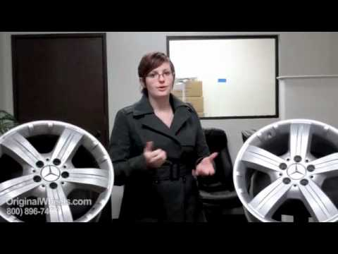 ML Class Rims & ML-Class Wheels - Video of Mercedes Factory, Original, OEM, stock new & used rim Co.