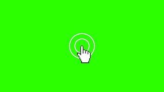 Cliques de Mouse #1 - Mouse Clicks #1 / Green Screen - Chroma Key