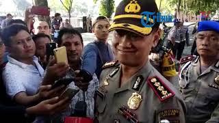 Kapolrestabes Beri Keterangan Terkait Kerusuhan Antara Massa Pro dan Kontra Jokowi