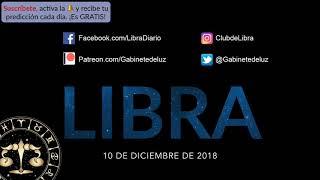Horóscopo Diario y Semanal - Libra - 10 de Diciembre de 2018