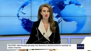 RTK3 Lajmet e orës 22:00 17.09.2020