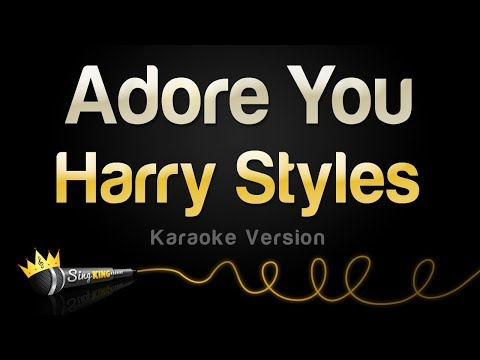 Harry Styles - Adore You (Karaoke Version)