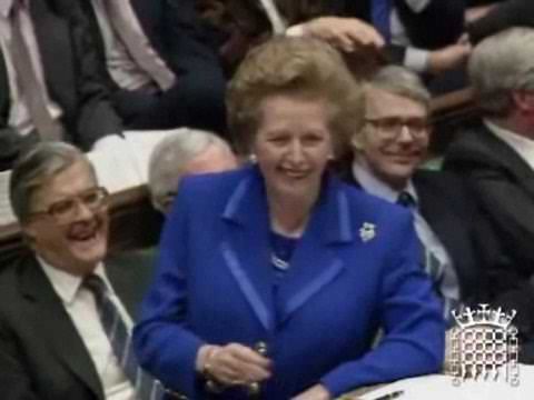 Margaret Thatcher's scathing remarks on the EU and Socialism
