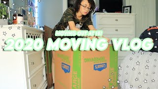 MOVE IN VLOG ✰ PACKING & MOVING To My FIRST APARTMENT!