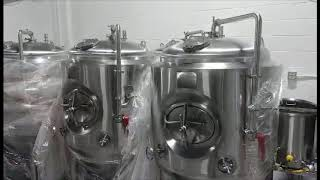 A glance of Carolina brewtech's warehouse