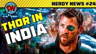 Gambar cover Avengers 4 Trailer & Reshoot, Indian in Wonder Woman 2, Eminem in Venom, Blade | Nerdy News #24